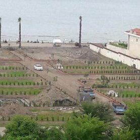 زمین فروشی کنار ساحل