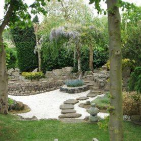 طراحی باغچه ویلا